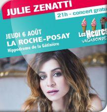 Concert de Julie ZENATTI.