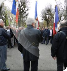 Minute de silence à La Roche-Posay