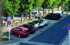 Stationnement zone bleue