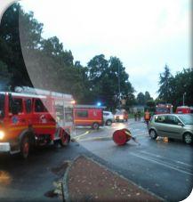 Exercice avec les pompiers au Laboratoire La Roche-Posay