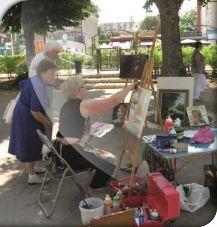Les artistes dans la ville