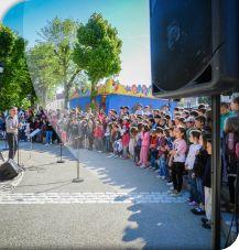 Chorale enfants à l'occasion des Chorilèges 2012